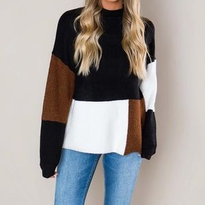Colorblock Sweater NEW